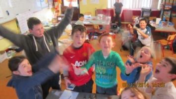 4th class fundraisers for the homeless christmas 2014 007