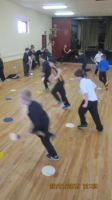 Hurling training in the hall 007